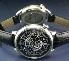 Regulateur MOLNIYA USSR Masonic Mason Style Vintage Watch Mechanical Visible