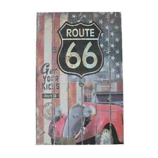 US Route 66 Book Design Secret Hidden Money Cash Safe Saving Storage Box M