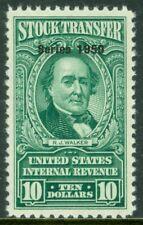 EDW1949SELL : USA 1950 Scott #RD328 Very Fine, Mint No Gum PSAG Cert. Cat $200.