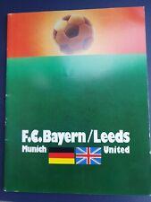 More details for 1975 european cup final - leeds united 🏴v bayern munich 🇩🇪