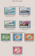 PAPUA NEUGUINEA 1975-89 ** Mi 296-609 Bl. 1-3+ 21 GS Abo-Sammlung Lindner Album