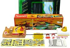 Vintage Mattel VertiBird Paramedic Rescue Helicopter Set Complete w/Box Works