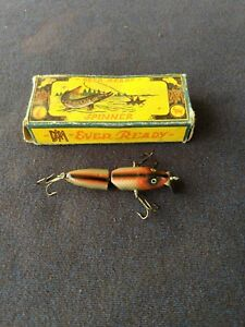 Vintage DAM EVER READY JOINTED FISHING LURE ???? Kat No; 1650