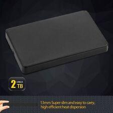 6.3cm USB 2.0 2 To Sata HDD Lecteur de Disque Dur Boitier Externe Candy