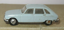 b old Made in France 1966 MICRO NOREV HO 1/87 RENAULT 16 R16 BLEU CLAIR #531