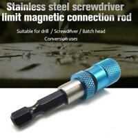 Adjustable Screw Depth Bit Holder 1/4'' Hex Driver Hand Z3G2 Tools Magnetic D1Y8