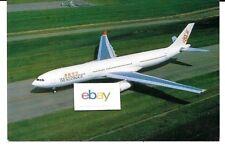 DRAGONAIR HONG KONG AIRBUS A330-300 AIRLINE ISSUE POSTCARD
