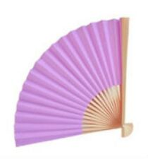 100 LAVENDER Paper Fan Beach Wedding Fans Favors