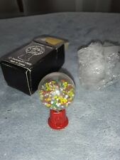 1970s NEW IN BOX doll's #2177 GUMBALL MACH DIECAST METAL w/moving gumballs
