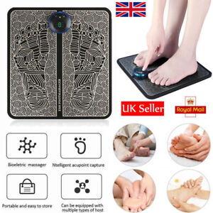 EMS Leg Reshaping Foot Massager Mat Pad Blood Muscle Circulation Relief Pain Spa