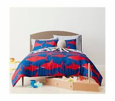 New Pillowfort Simply Great White Get-Together Twin Comforter Set 2pc