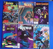 Lot DC Comics Batman Catwoman 1990s War Deil KnightQuest Joker Ratcatcher Spawn