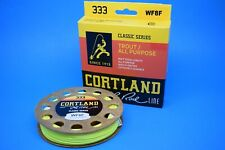 Cortland Fly line 333 Classic , WF, Fly fishing, Trout Fly fishing, Fly lines
