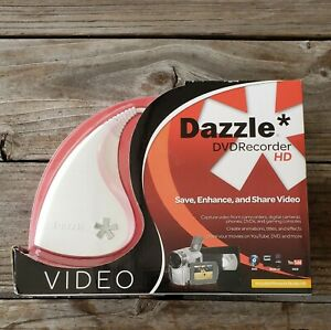 Dazzle DVD Recorder HD VHS to DVD Convert media to DVD