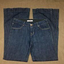 "J Brand Jeans Size 30 Dark Wash Wide Leg Flare USA 33"" x 34"""