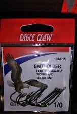 Eagle Claw Ringeye Forgd Bthldr Nkl 8Pk Size1/0
