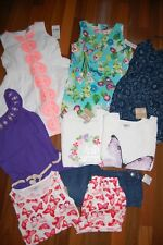NWT Girls 5 5T Spring Summer 9 Piece Lot Dresses Rompers Sets  RV $160