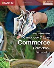Cambridge O Level Commerce Coursebook (Cambridge International Examinations), Tr
