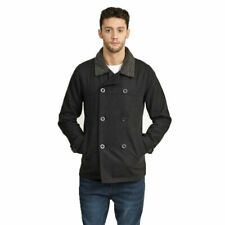 Brave Soul Double Breasted Pea Coat Carlos