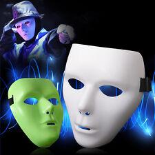 PVC Halloween Hip Hop Weiße Grüne Maske Anonyme Faschingsmaske Phantommaske