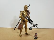 Star Wars Black Series C-3PO & Babu Frik 6? Figures Hasbro 2019