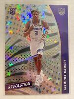 2020-21 Jahmi'us Ramsey Panini Revolution NBA ROOKIE #113 ASTRO Sacramento Kings