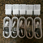 OEM Wholesale Lot Samsung Galaxy Note 5 S6 S7 Edge Plus White Micro USB Charger