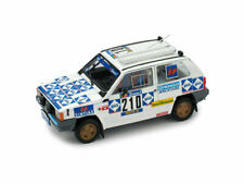 Fiat panda 4x4 n210 abandon paris dakar1984 baghetti-badois 1:43 auto rally