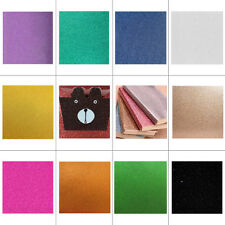 10pcs Glitter Card Backing Paper Sheets Single Sided Xmas Birthday Party Crafts