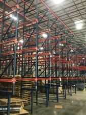 Structural Drive-In Pallet Racking - 4 High X 7 Deep