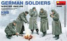 1:35 MiniArt 35218 - German Soldiers (Winter 1941-42)  - 5 Figure Set  Model Kit