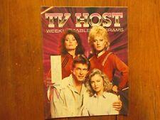 Oct  20-1984 Pa TV Host Magaz(V/MARC SINGER/JANE BADLER/FAYE GRANT/JUNE CHADWICK