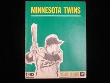 1963 Minnesota Twins Yearbook