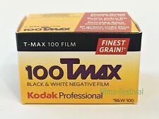 3 rolls Kodak 100Tmax 35mm 36exp B&W Film T-Max