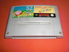 Super Nintendo Kirby's Ghost Trap [PAL UKV] SNES NO NES 64 Game Boy Cube *JRF