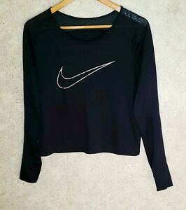 NIKE Dri-Fit  Training / Running Long Sleeve Pullover Women's Sz M / Medium
