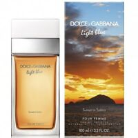 D & G Light Blue Sunset in Salina perfume for women 3.3 / 3.4 oz EDT New in Box