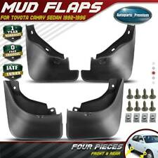4x Spalsh Guards Mud Flaps Mudguards for Toyota Camry 1992-1996 Sedan Front Rear