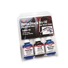 Birchwood Casey Tru Oil & Perma Blu Kit Completo di finitura di pistola