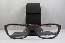 2009b546d7a1 Prada Women s Purple Glasses with case VPR 04P ROM-1O1 54mm