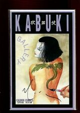 KABUKI GALLERY(9.4)(NM)AUTO/ DAVID MACK W/ COA(b000)
