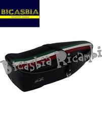 9229 - SELLA SELLONE FASCIA TRICOLORE NERA VESPA 125 SUPER SPRINT GT GTR TS