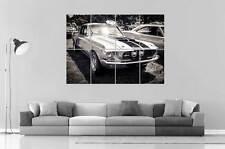Eleanor Ford Mustang 1967 schwarz&weiß Sammlung Wand Plakat groß format A0 groß