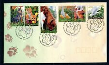 1996 Pets (Gummed Stamps) Fdc - Canberra Act Pictorial Pmk