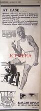 1932 COURTAULDS Rayon Mens Underwear Ad #2 - Original Art Deco Print Advert