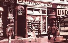 Postcard Nostalgia 1930's LONDON Joey Lyons Tea Shop Reproduction Card