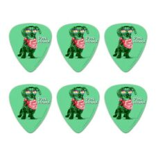 Dock Hound Dachshund Wiener Dog Retro Novelty Guitar Picks Medium - Set of 6