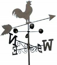 Olive Grove Weathervanes - Steel Cockeral Weathervane With Ground Spike and Wall
