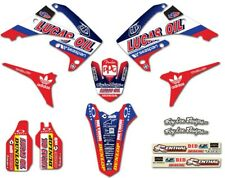 HONDA CRF450R 13-16   TROY LEE LUCAS OIL  Graphic kit sticker set
