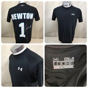 UNDER ARMOUR CAM NEWTON #1 CAROLINA PANTHERS Size Small T-Shirt       Bn7
